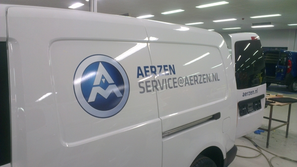 autobelettering vw caddy maxi