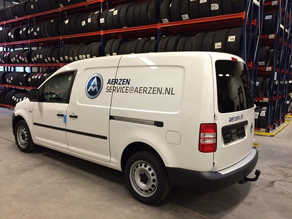 Autobelettering VW Caddy Maxi Duiven