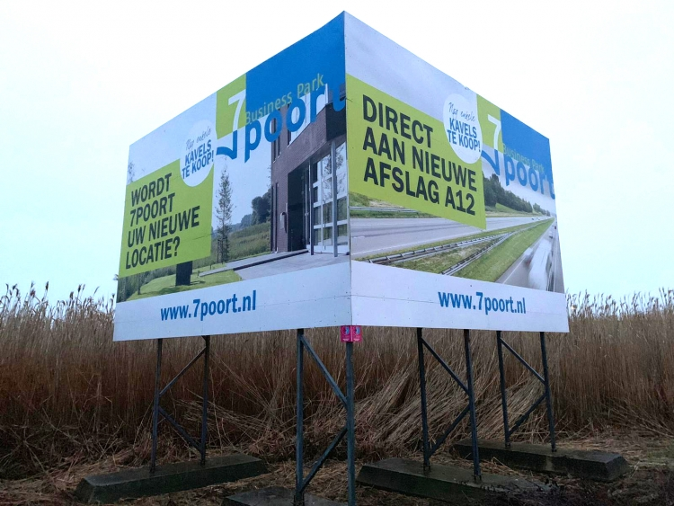 Projectbord 7 poort A12